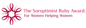 Soroptimist International Wichita - Ruby Award Logo