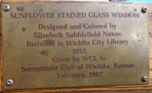 Soroptimist International Wichita - House Plaque